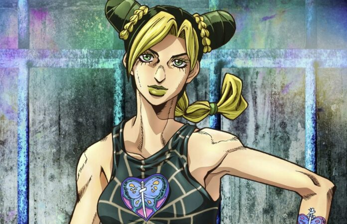 Jolyne Cujoh Smiling in a tank top