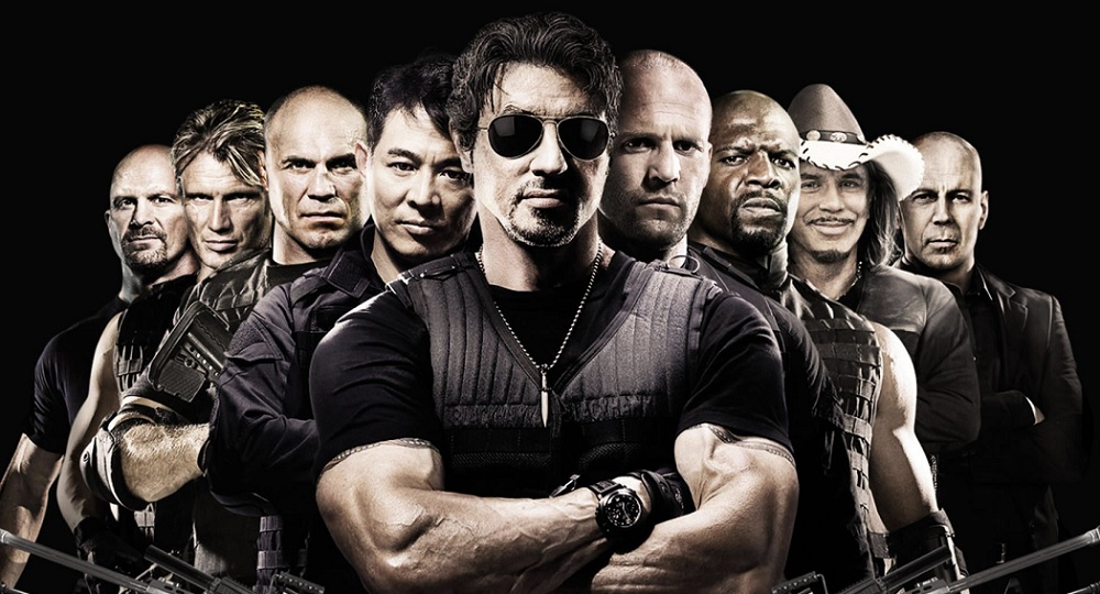 The Expendables Characters Poster