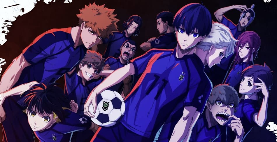 Blue Lock anime image with all the main characters