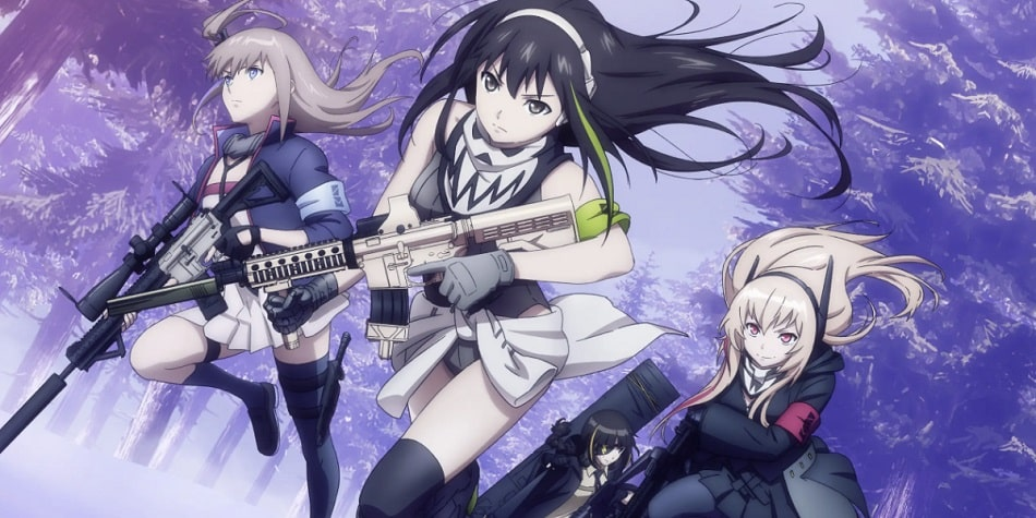 T-Dolls M4A1 and her friends running together